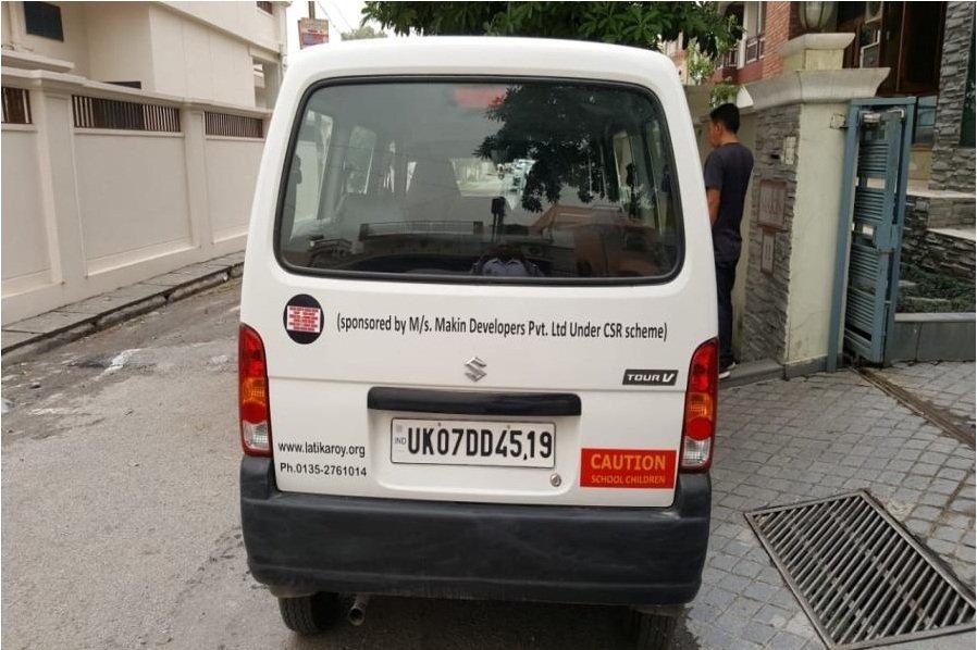 Van Gifted to Latika Roy Foundation Under CSR