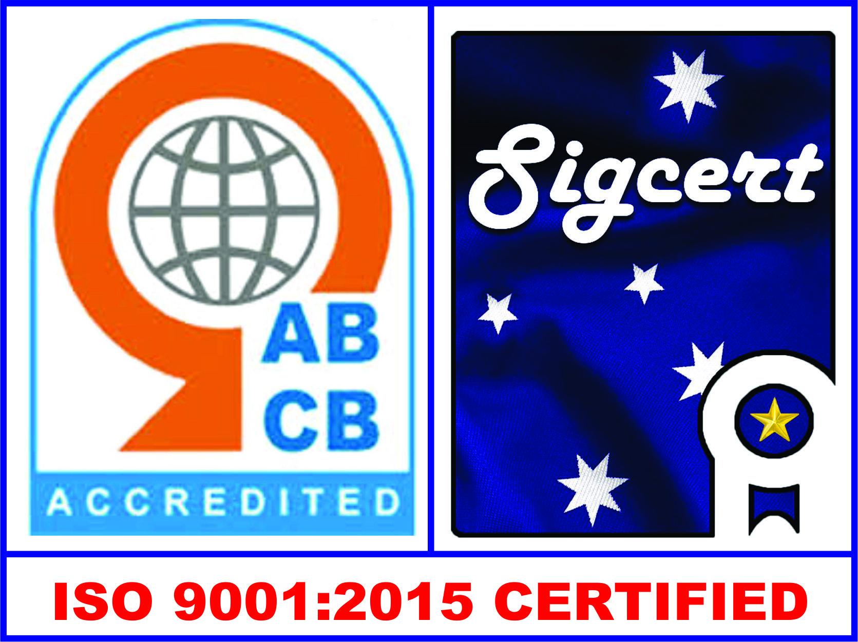 Sigma 9001 Certification